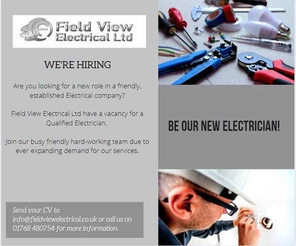 We Are Hiring @ Field View Electrical Ltd